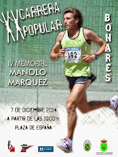 XX CARRERA POPULAR DE BONARES - IV MEMORIAL MANOLO MÁRQUEZ