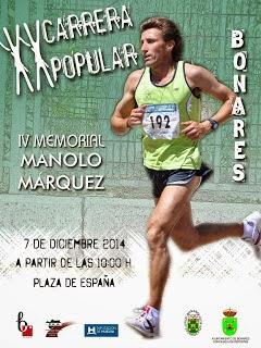 XX CARRERA POPULAR DE BONARES - IV MEMORIAL MANOLO MÁRQUEZ