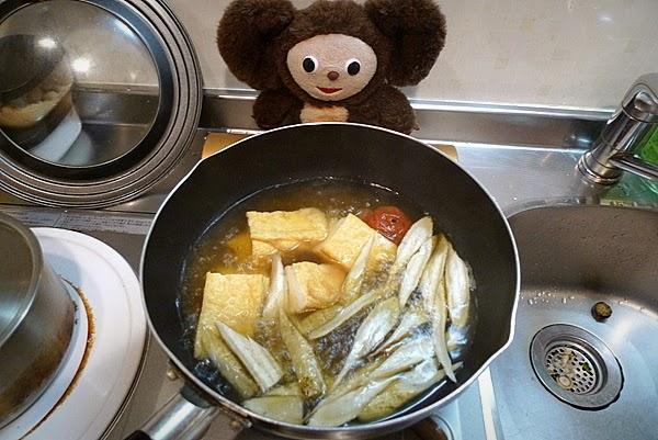 厚揚げ梅煮の作り方(2)