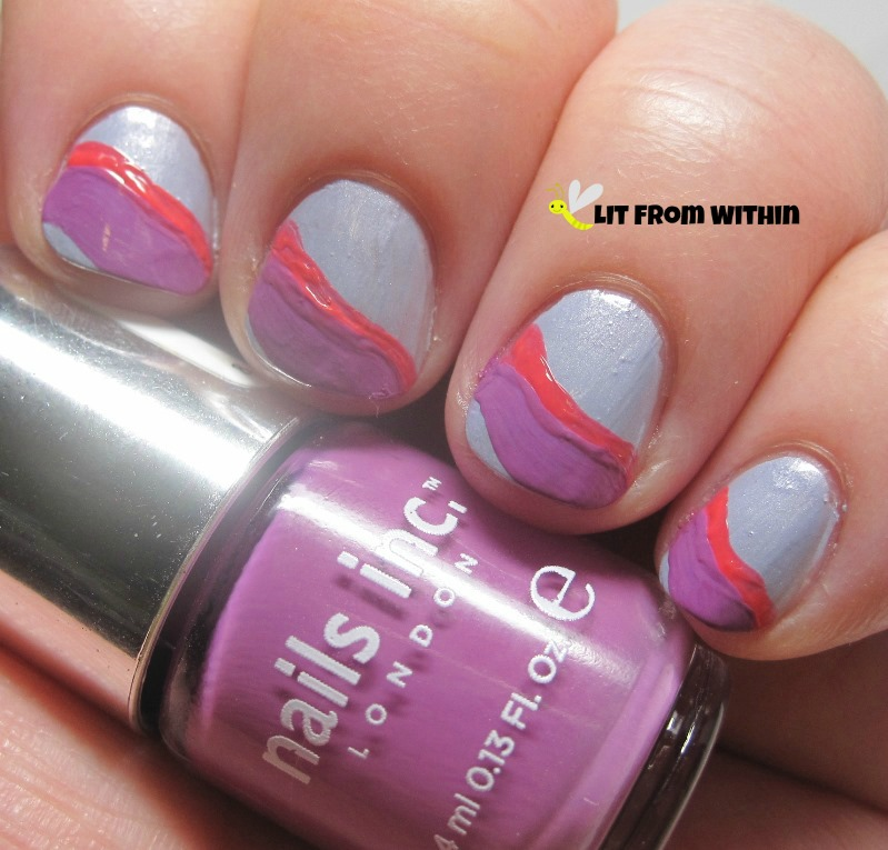 Nails Inc Devonshire Row, a radiant orchid