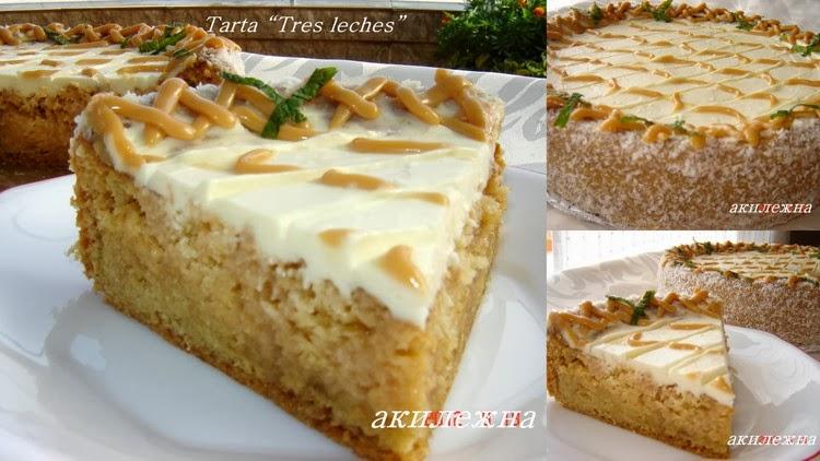 """Tarta """"Tres leches"""""""