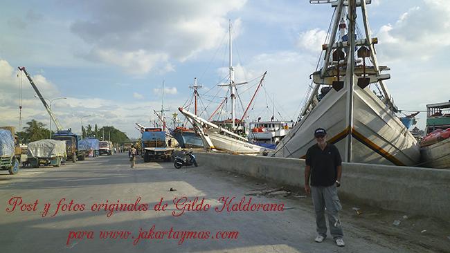 Puerto de Sunda Kelapa en Yakarta