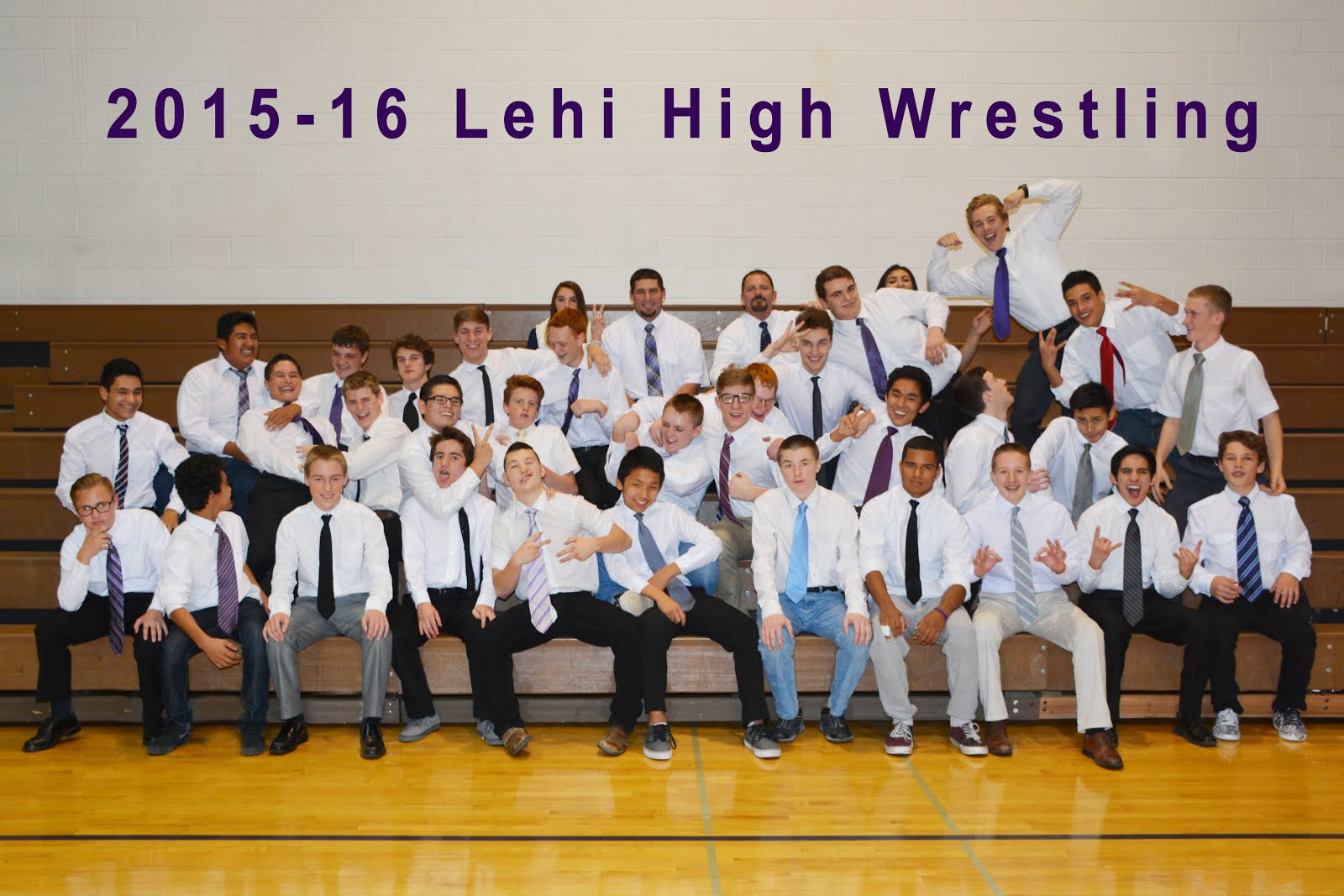 2015-16 Lehi High Wrestling