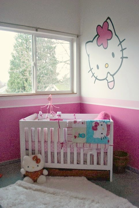 Decoracion cuartos para bebes hello kitty – dabcre.com