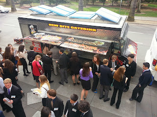 Food Trucks and X Degrees of Separation