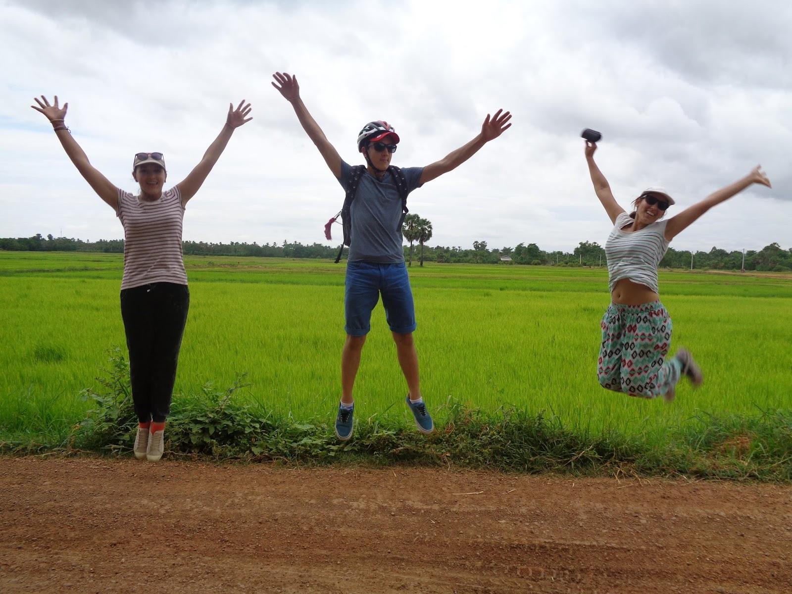 Le d but d 39 une grande aventure cambodge - Combien de temps pour qu un coup de soleil parte ...
