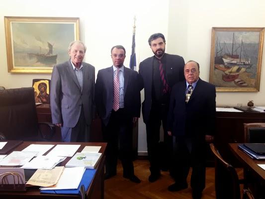 Συνάντηση με τον Αναπληρωτή Υπουργό Οικονομικών κ. Χρήστο Σταϊκούρα