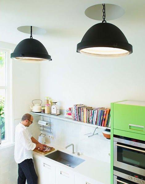 Decorando y renovando para casi todos los estilos for Lampara industrial cocina