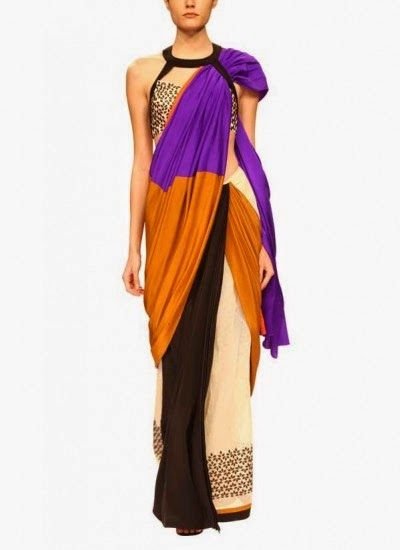Celendia Saree | Indian Designers | Indian Designer Saree by Sougat Paul