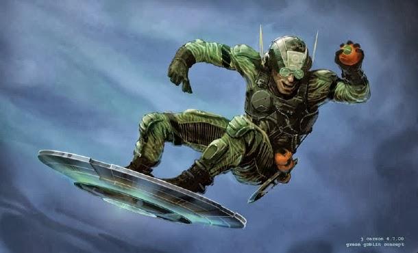 Green Goblin Sam Raimi´s Spider-man Concept Arts