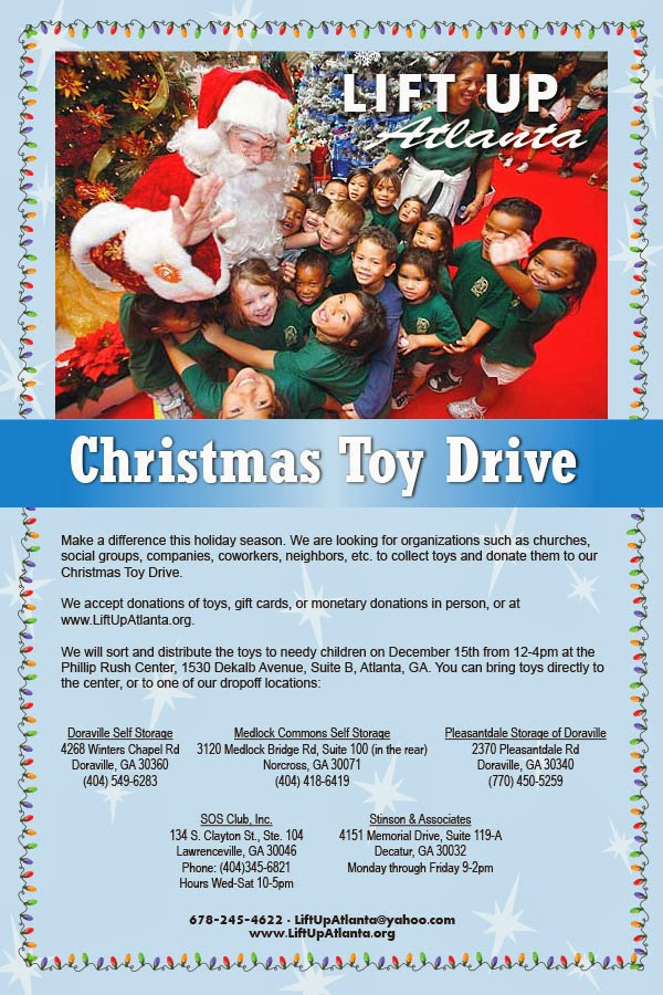Christmas Toys For The Needy : Lift up atlanta christmas toy drive for needy children