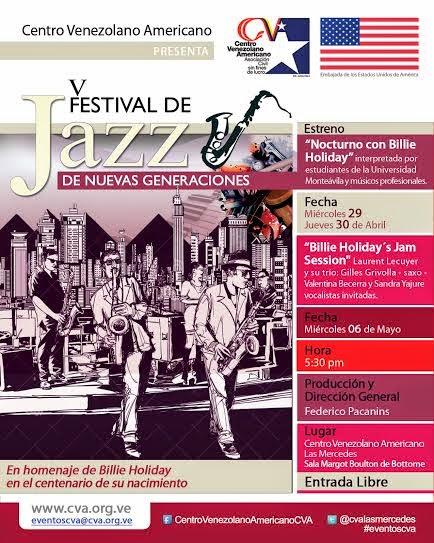 festival jazz caracas venezuela las mercedes cva 2015