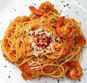 Resep Spaghetti Udang Paling Mudah
