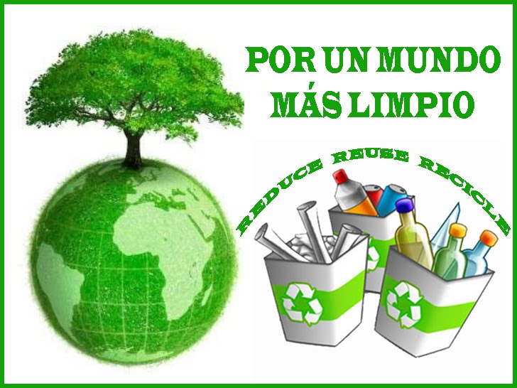 REDUCE, REUSE, RECICLE