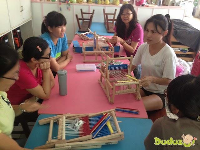 MICKI 迷你織布機產品教學研討