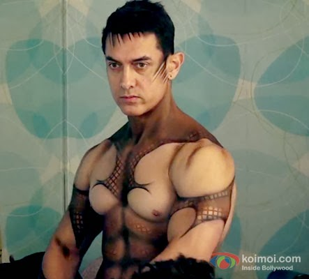 Amazing Body Art On Aamir Khan For Malang I Dhoom 3 - Sonu ...