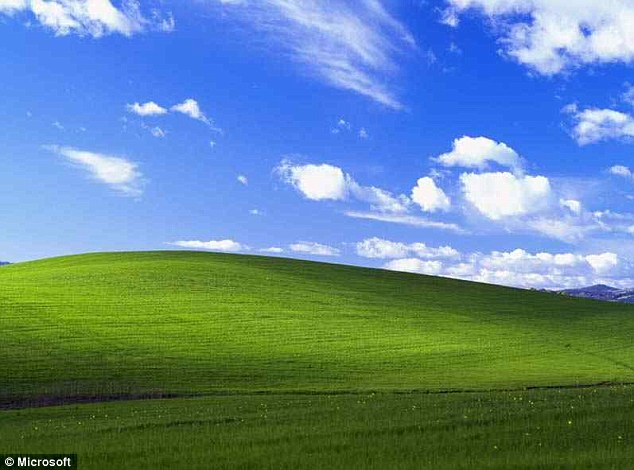 Bagaimana wallpaper Windows XP yang terkenal iaitu Bliss dirakam