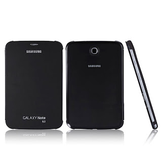 Black Leather Case Stand for Samsung Galaxy Note 8.0 N5100 N5110