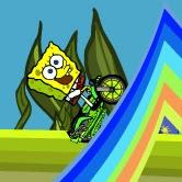 Spongebob Rainbow Rider | Toptenjuegos.blogspot.com