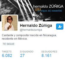 Sigue a Hernaldo en Twitter