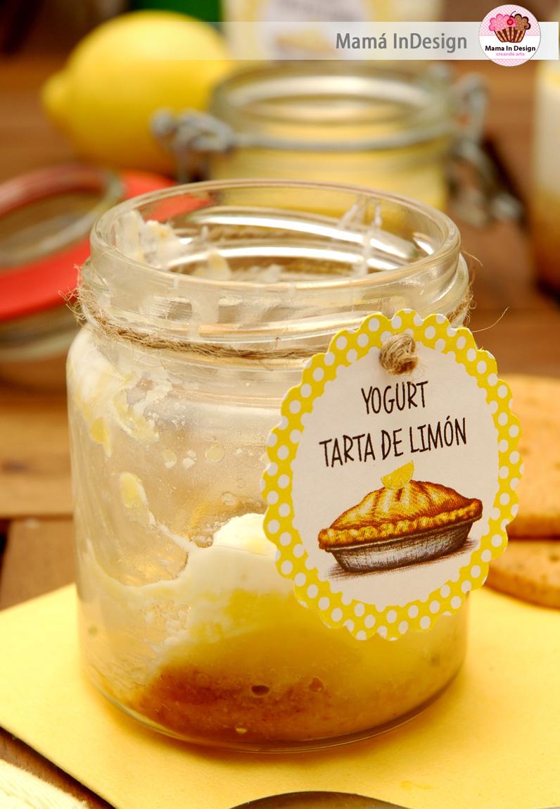 Yogurt tarta de limón