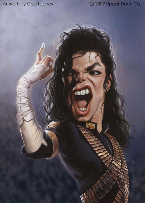 """Michael Jackson"" por Court Jones"