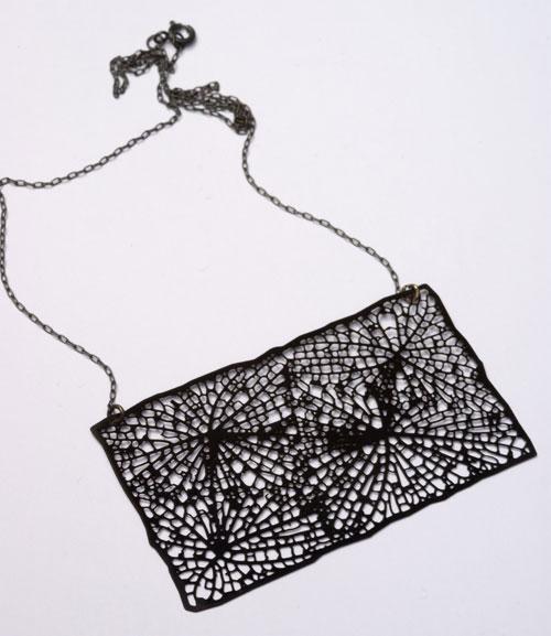 Collar diseño negro