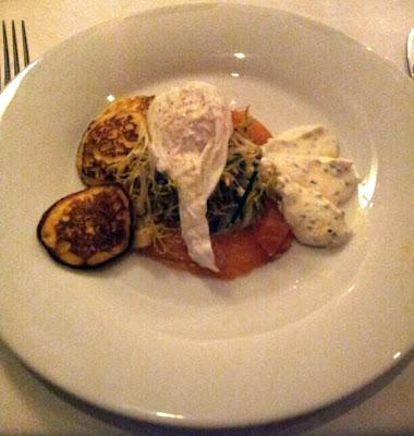 Brasserie Flo restaurant Maastricht home smoked salmon