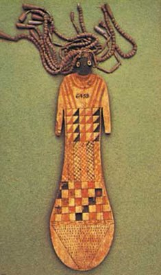 Ancient Egypt Paddle Doll