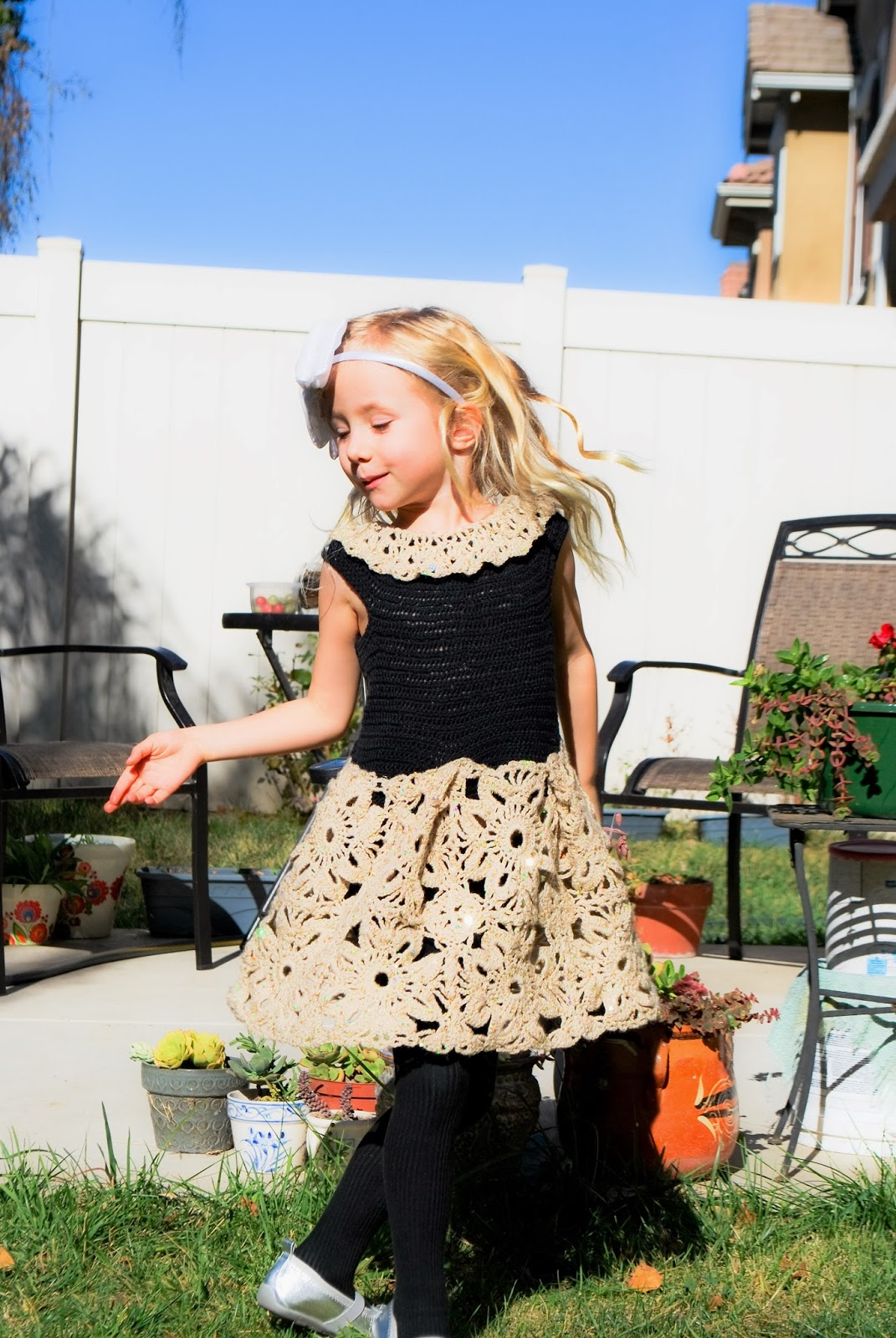 Mayas Wonderland: Crochet dress for girls - granny ...