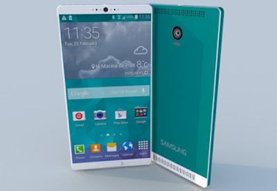 Samsung galaxy note 5 dilengkapi layar 5,7inci