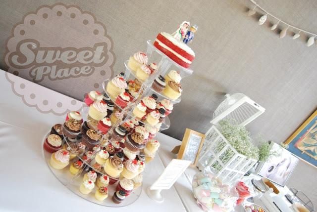 torre cupcakes boda coruña