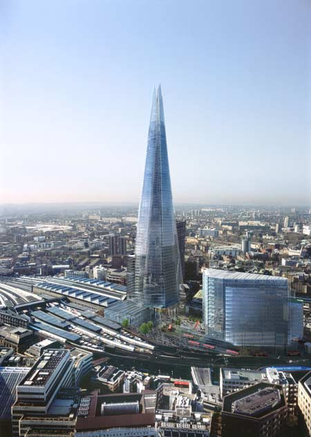 My architectural moleskine renzo piano the shard tower for Architecture londres