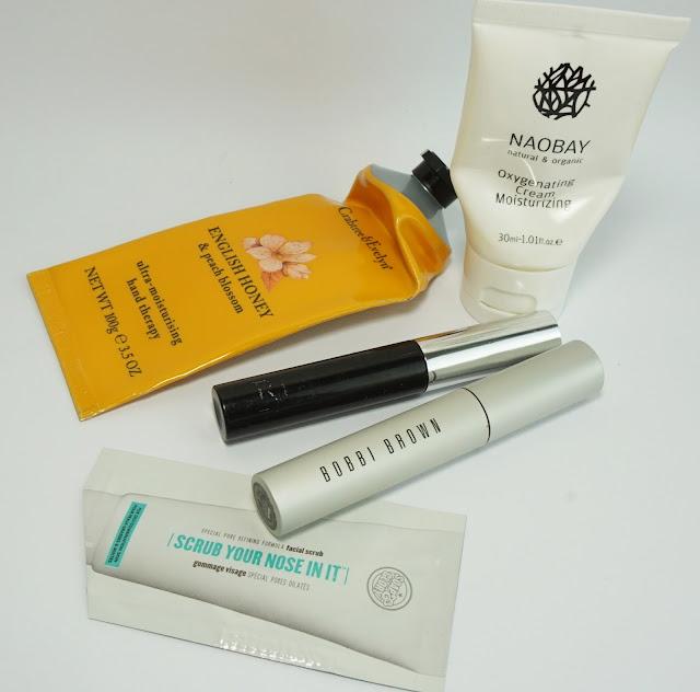 Aufgebrauchte Kosmetik - April 2015 Crabtree & Evelyn, Naobay, Realash, Bobbi Brown