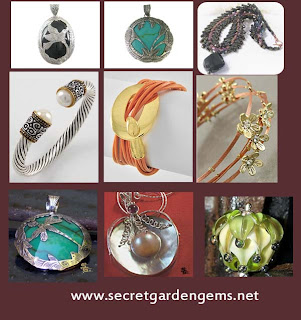 secret garden gems jewelry