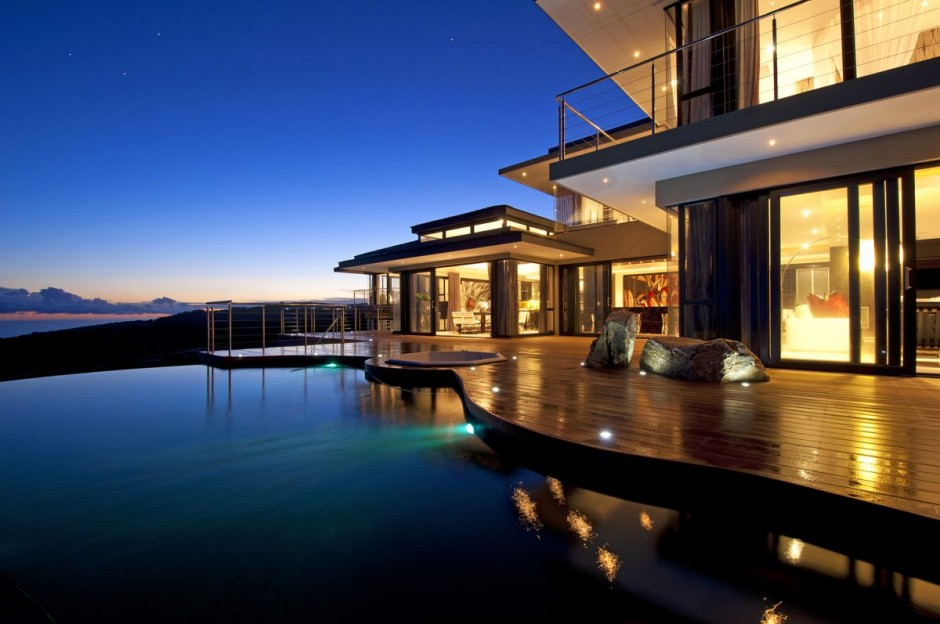 Luxury contemporary and modern south africa house at for Best houses in south africa pictures