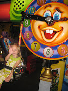 One of Brooklyn's very favorite places to go is Chuck E Cheese's.