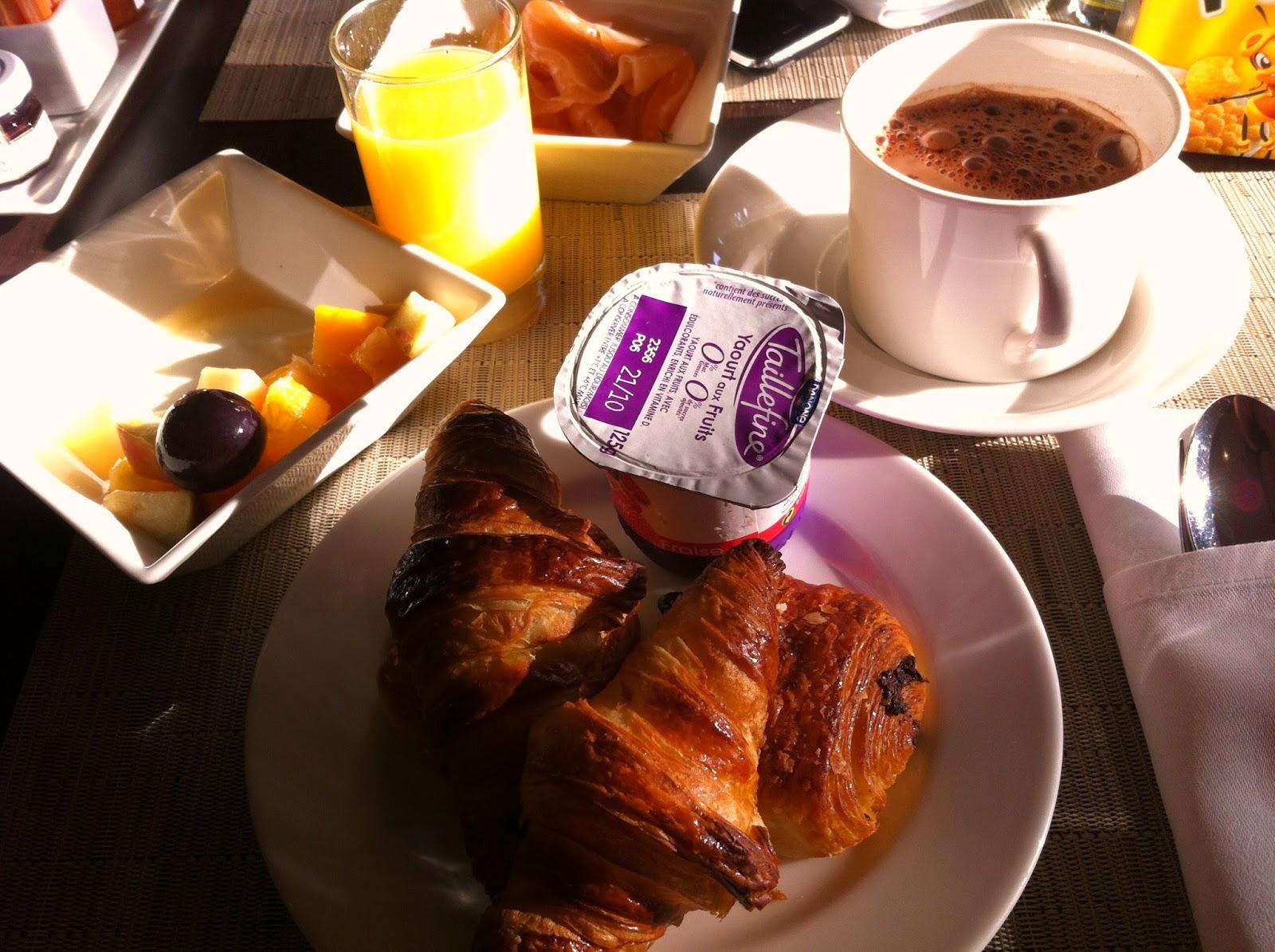 petit déjeuner spa