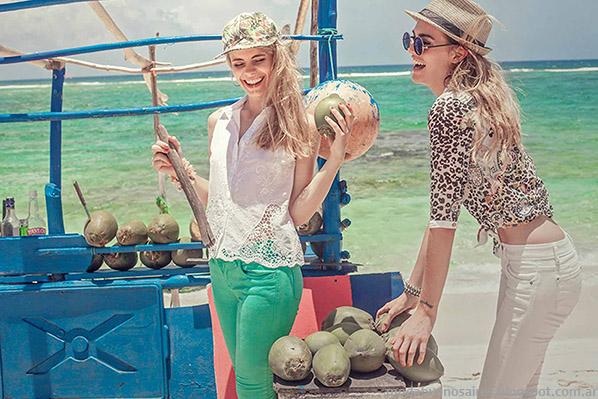 Moda mujer 2015. Moda verano ropa de mujer marca Sweet. Moda 2015 Argentina.