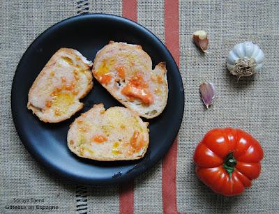 recette pain a la tomate