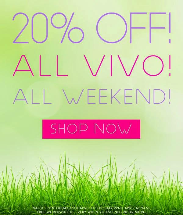 VIVO Cosmetics - 20% di sconto su tutto per Pasqua 2014
