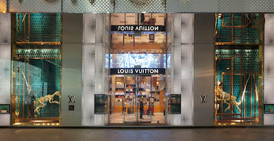 Louis Vuitton's Latest Natural HIstory Windows and Behind-the-Scenes Images!