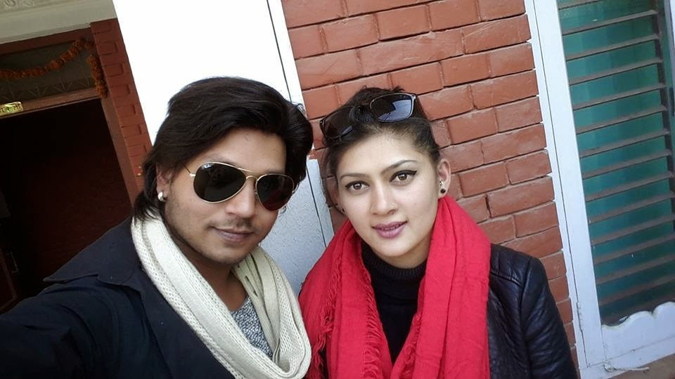 Hassan Khan and Anita Acharya