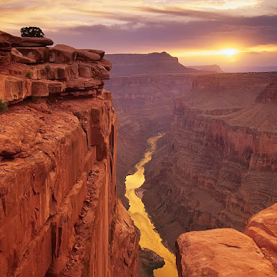 Grand Canyon sunset, USA download free wallpapers for Apple iPad
