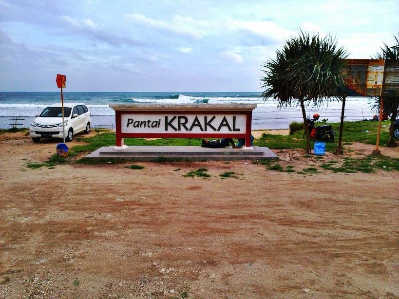 Foto Keindahan Pantai Krakal Yogyakarta, pantai krakal gunung kidul