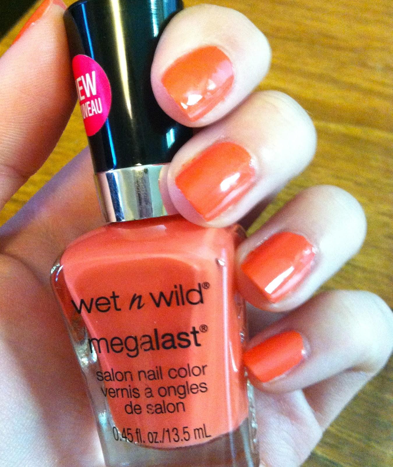Barbi's Beauty: Wet N Wild Megalast Nail Color: Club Havana