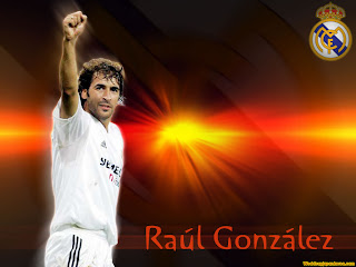 Raul Gonzalez   Wallpapers Real Madrid Football Legend