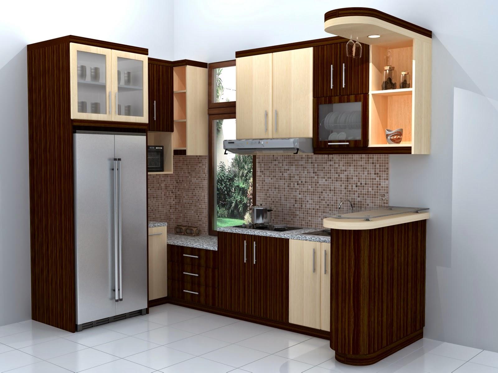 gambar dapur rumah kecil sederhana