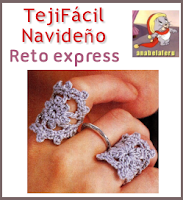 Reto express-Tejido Facil Navideño.