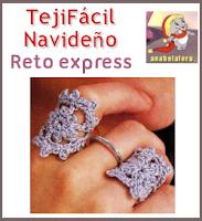 Reto express-Tejido Facil Navideño.